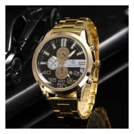 Rinnady Luxury Men Watch, Stainless Steel Male Watches