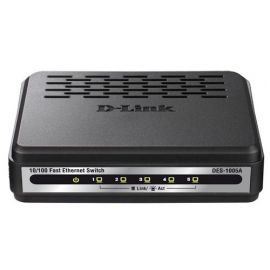 Dlink 5-Port Fast Ethernet Desktop Switch-DES-1005A/B
