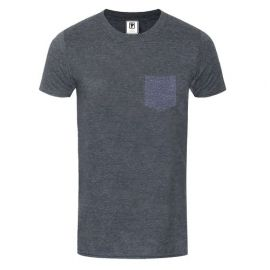 Priddi International Pocket T-shirt - Dark Grey