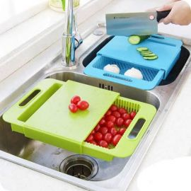2 In 1 Multi Functional Sliding Chopping Board