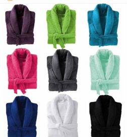 Premium Cotton Bathrobe