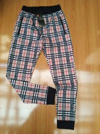 Men Checkered Joggers - Cream Multi