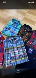 Multicolored Striped Cooperate Shirts