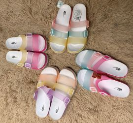 Tripple Strap Jelly Slippers