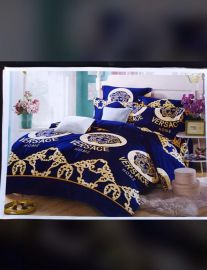 Versace Design Bedsheets With Duvet