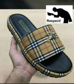 Checkered Burberry Slippers