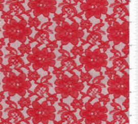 Ladies Quality Red All Over Fabric