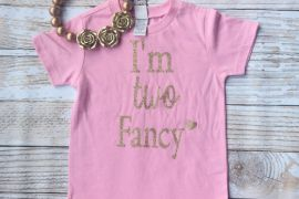 I am too Fancy Roundneck Tshirt