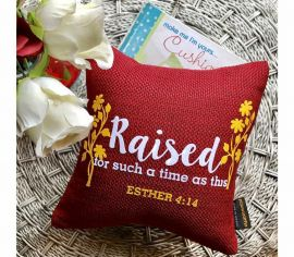 Scriptural Quote Throw Pillow