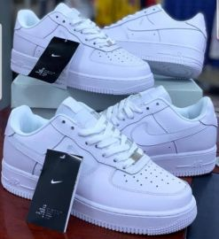 Nike Lace Up Sneakers - White