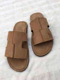 Men Nude Cut Out Slippers